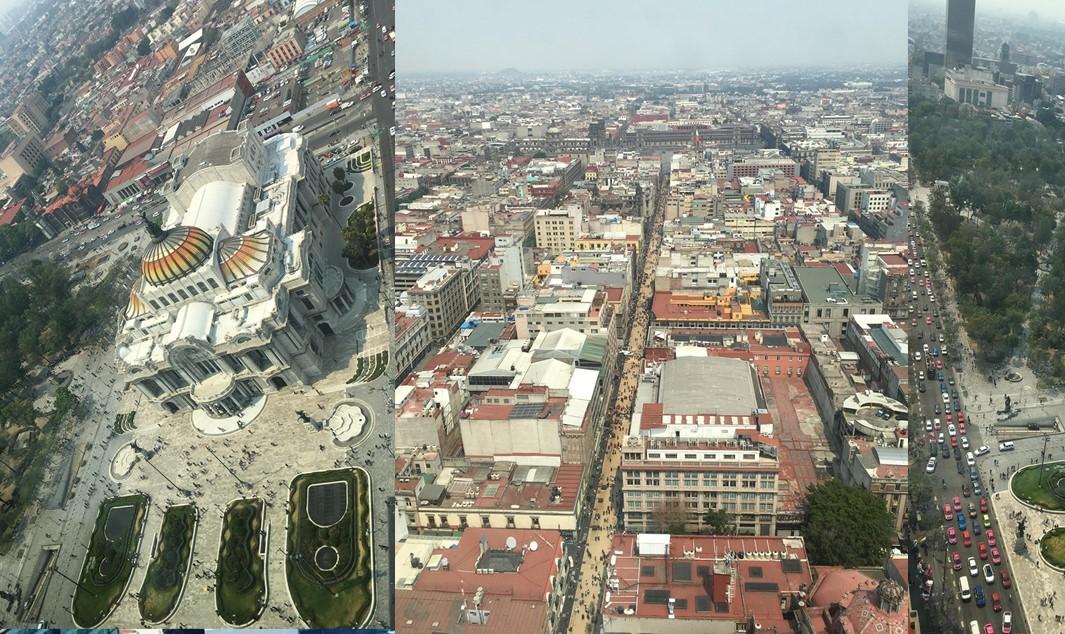 Mexico city view
