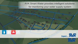 What does the AVK Smart Water solution entail?